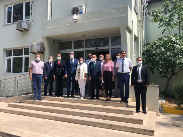 Genel Müdürümüz Sayın N. Leyla AKINCI'nın Antalya Bölge Müdürlüğü ve Antalya Liman Başkanlığına Ziyaretleri