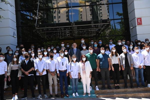 Sayın Bakanımız Adil KARAİSMAİLOĞLU'nun stajyer öğrenciler ile buluşması